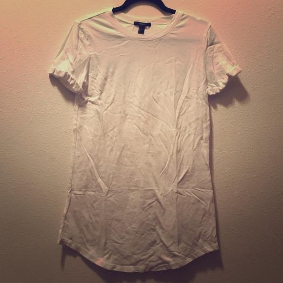 Forever 21 Dresses & Skirts - Forever 21 White T-Shirt Dress